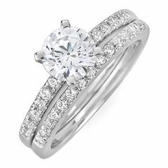 Dual Band Wedding Rings